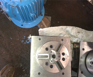 Hydraulic Clamping VMC Fixture